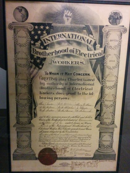 Surprising Our Unions Proud History Ibew 213 Wiring Cloud Hisonuggs Outletorg